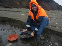 Gold Panning and Rock Hounding
